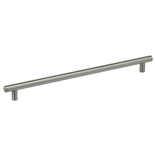 Omnia Bar (Omnia 9465/320 Stainless Steel 12-5/8 Inch Center to Center Bar Cabinet Pull, Brushed Stainless Steel)