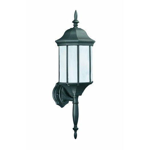 Thomas Lighting Pl9461-7 Hawthorne One-Light Energy Star Certified Outdoor Wall Lantern, Matte Black