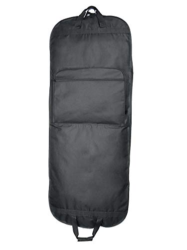 """DALIX 60"""" Professional Garment Bag Cover for Suits Pants and Gowns Dresses (Foldable) from DALIX"""