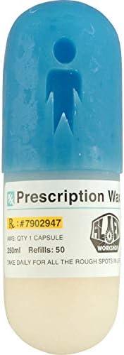 Alien Workshop Skateboard Wax Pill Curb Wax White/Blue