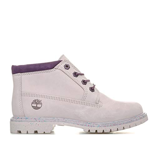 Timberland Women's Nellie Chukka Double Boots Marble US6 Purple