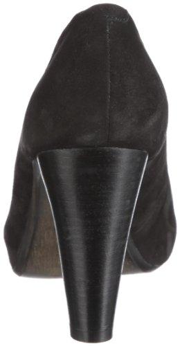 Marc Shoes Imola 1.460.06-21/100 - Sandalias de cuero nobuck para mujer Negro (Schwarz (Black))