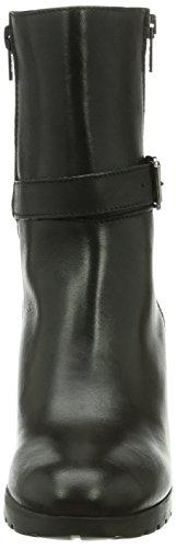 Tamaris 25085 - botas chelsea de cuero mujer negro - negro