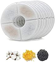 Pet water fountain filters, cat fountain filter, Pet Water Fountain Filters for Flower Fountains, Pet Water Fountain...