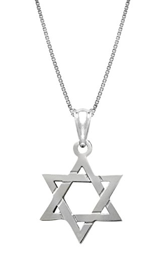 Sterling Silver Jewish Necklace Pendant
