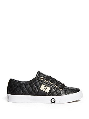 G by GUESS Womens Byrone2 Low Top Lace Up Fashion Sneakers Black I8lVK50