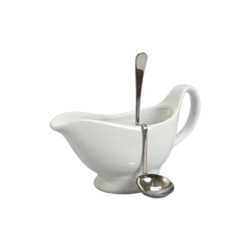 Stainless Steel Hanging Gravy Ladle - 6.5 inch -