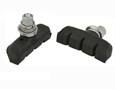45mm Brake Shoes W/Screw Black. for bicycle brake part, bike brake shoe,