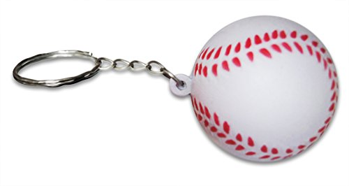 Novel-Merk-24-Piece-Sports-Ball-Keychains-for-Kids-Party-Favors-School-Carnival-Prizes-and-Business-Promotional-Items-Includes-4-Each-of-6-Different-Designs