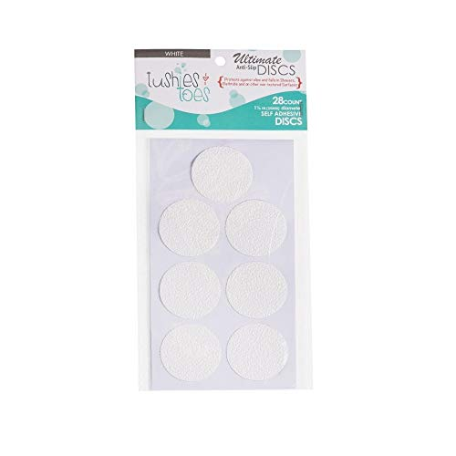 Clear 2-Pack Bath Tub Anti-Slip Discs - Non Skid Adhesive Shower Stickers Appliques Treads by Unknown