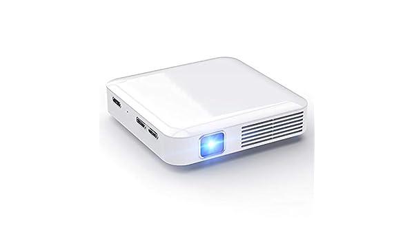 Proyector en casa HD teléfono móvil WiFi inalámbrico 3D proyector ...