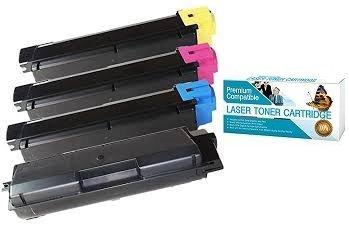 インクNowプレミアム互換コンボパック(すべての色) for kyocera-mita Toners tk897 C、tk897 K、tk897 m、tk897y for FS c8520mfp、c8525mfp ; TASKalfa 205 C、255、255 Cプリンタ B07B5MB2XD