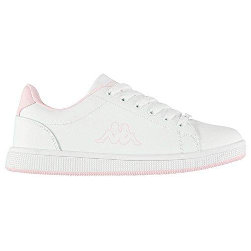 Chaussures Sports Dlx Baskets Pour Sneakers Kappa Blanc Femme rose Officiel Maresas dBUdz