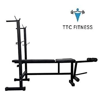 Buy Ttc Fitness Multi 4 In 1 Weight Bench Press With 5 Kg X 2 Pvc