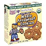 Healthy Times Premium Organic 1st Cookie, Maple Arrowroot Cookies, 5-Ounce Box (Pack of 12) ( Value Bulk Multi-pack)
