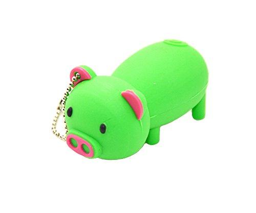 FEBNISCTE Lovely Green Pig 8GB USB 2.0 Flash Disk Pendrive - 20 Dollar Graphics Card