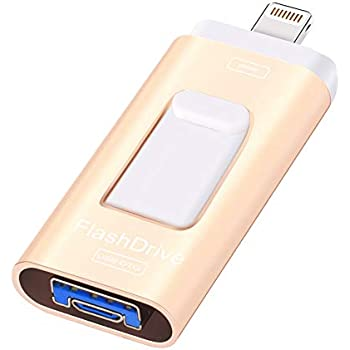 Can you hook up a flash drive to an iphone