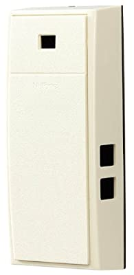 NuTone MCV309NWHGL Mechanical Two-Note Door Chime with Thru-Door Greeter, French White