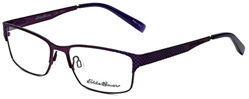 Eddie Bauer Designer Eyeglass Frame EB32203-PU in Purple 54mm