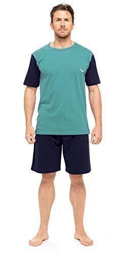 con maglietta e pantaloncini confezione da 1 o da 3 in cotone Set pigiama da uomo