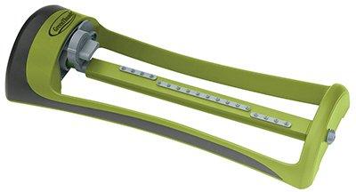 Sprinkler Poly Oscillating - BOSCH GARDEN & WATERING 7500PMGT Thumb Poly Oscillating Sprinkler, Green