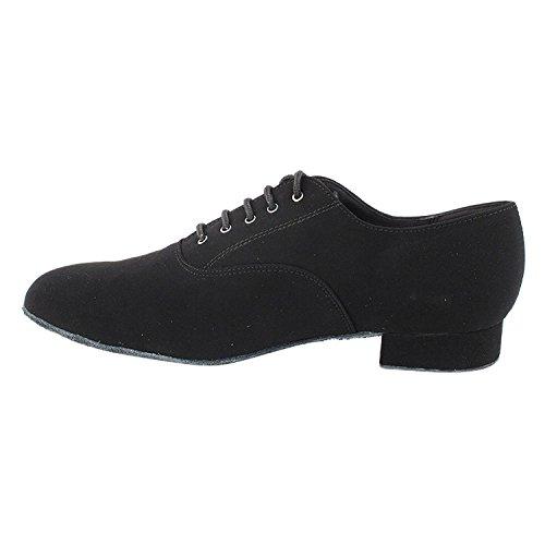 """50 Shades Of Men Standard 1 """"Heel Dance Kleid Schuhe Sammlung (Breite Breite verfügbar): Komfort Ballsaal, Standard, glatt, Latein, Salsa, Kunst von Party Party 919101 Schwarzes Nubuk"""