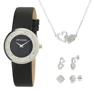 Pierre cardin pcx0312l12 ladies watch necklace earrings gift set pierre cardin pcx0312l12 ladies watch necklace earrings gift set mozeypictures Images