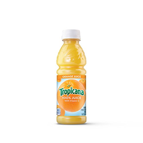 Tropicana Orange Juice, 10 Ounce (Pack of 24) ()