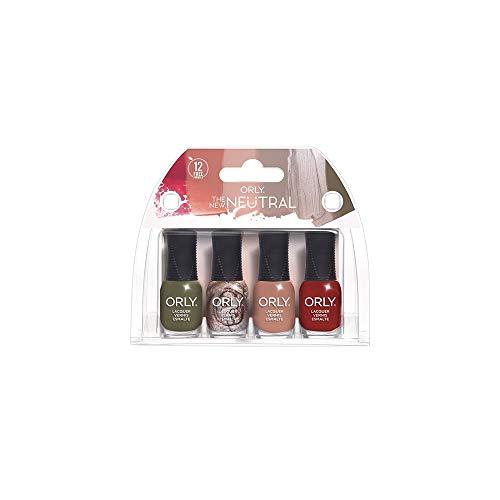 バンジョーシンジケート行政ORLY Lacquer - The New Neutral Collection - 4 Pack Mini - 5.3 ml / .18 oz Each
