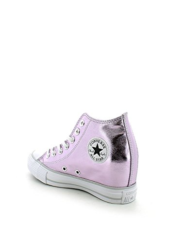 Converse - Converse Ct Lux Mid Zapatos deportivos Mujer Gris Tejido 550669C - Gris, 35.5