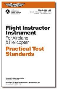 ASA Practcal Test Standards CFI Instrument Rating