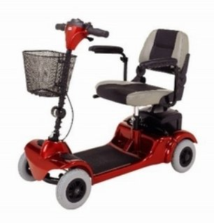 Merits Health Products Mini-Coupe Electric Scooter - S549EA - 1 Each / Each