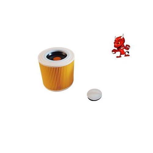 1 Cartouche de filtre Filtre rond FILTRE À LAMELLES convient à Kärcher A 2901
