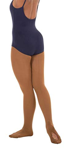 - Body Wrappers Womens Mesh Backseam Convertible Tight (A45) -Cappuccino - M