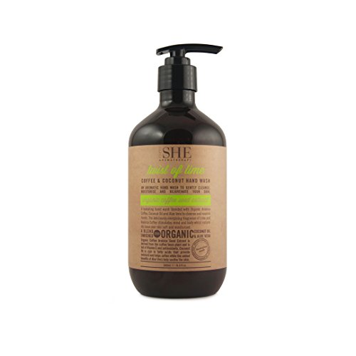 (OM She Aromatherapy - Coffee & Coconut Hand Wash - 16.9 fl oz (500ml) (A Twist Of Lime))