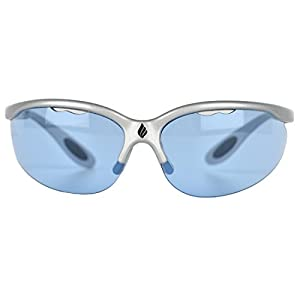 Ektelon More Game Air Racquetball Eyewear-Silver/Blue