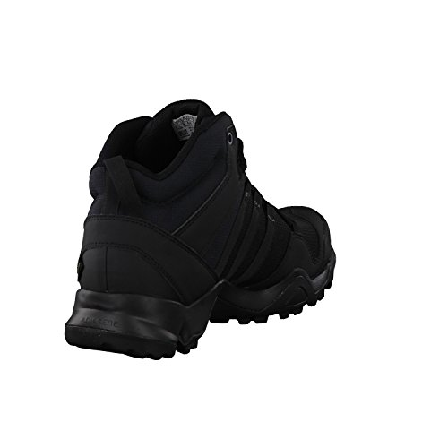Adidas Herren Terrex Ax2r Mid Gtx Wanderstiefel, Schwarz (Negbas/Negbas/Grivis), 50 EU