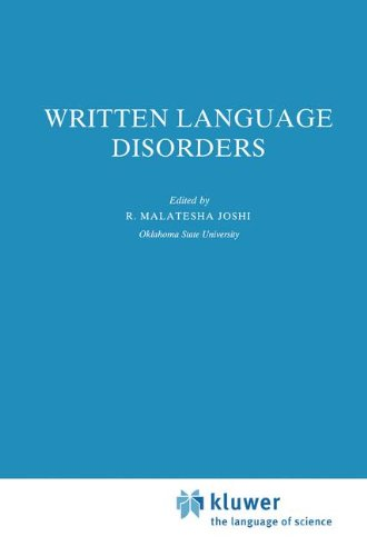 Written Language Disorders (Neuropsychology and Cognition)