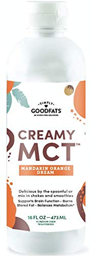 Simply Goodfats Creamy Mct Mandarin Orange Dream, 16 Fluid Ounce For Sale