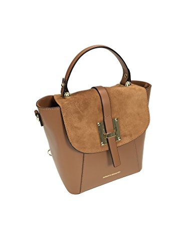 Collezione Alessandro - Backpack For Brown Suede Bag Woman