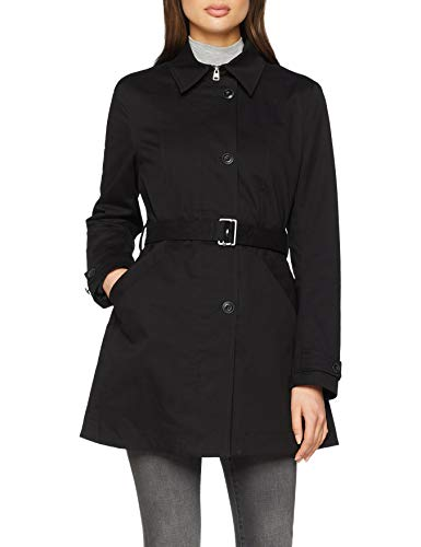 G Minor Trench 6484 dk star Manches Femme Longues Noir Black rrqWTCw1O