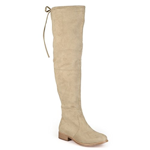 Journee Collection Womens Over-The-Knee Faux Suede Boots