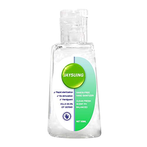 Lossky 75% Al-cohol Disposable Hand Sanitizer Hands Free Water Disinfection Hand Wash Gel