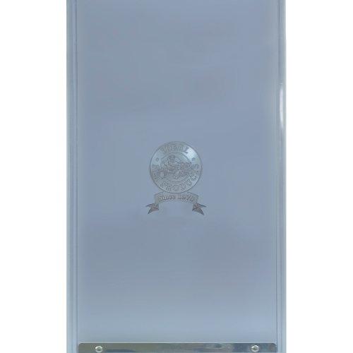 Ideal Pet Products New Style Plastic/Deluxe Pet Door, Medium, 7