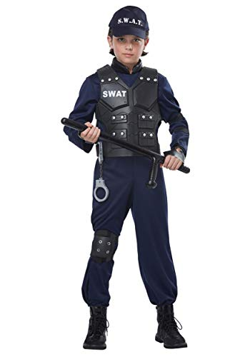 Junior Swat - Child Costume Navy]()