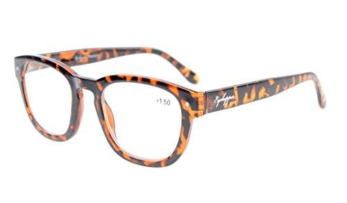 Eyekepper Reading Glasses Professor Vintage Style Spring Hinges Arms Tortoiseshell - Glasses Tortoiseshell