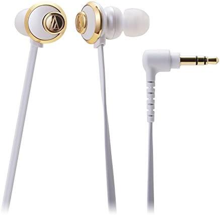 audio-technica GLAMORCY カナル型イヤホン ホワイト ATH-CKF77 WH
