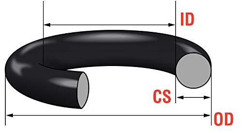 junta t/órica 9mm de 10 piezas para conectores de mangueras GTU 5001