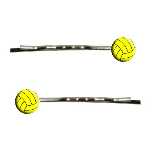 Water Polo Water Polo Ball Bobby Pins Barrettes Hair Styling Clips