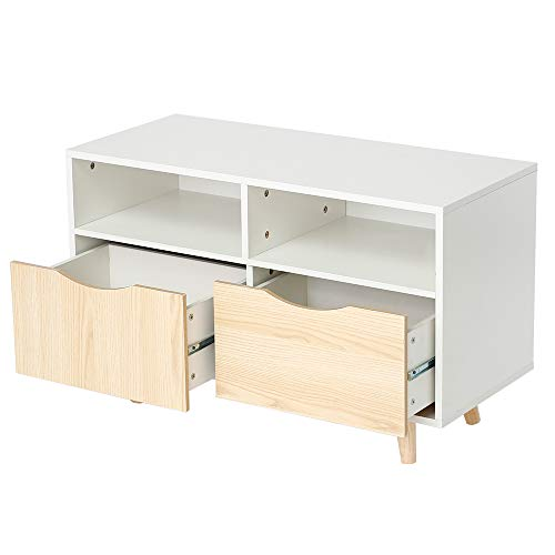 MUPAI Mueble Salon TV, Mueble de Comedor Moderno con 2 ...